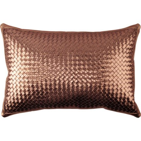 pillow.bling.bronze