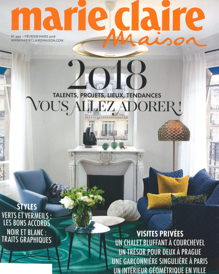 Cover - Marie Claire Maison 2018 February to March-2