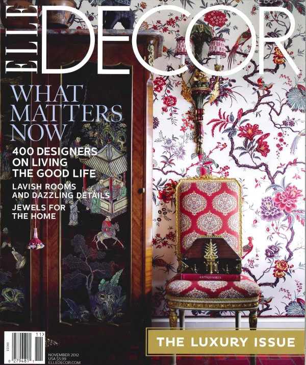 COVER Elle Decor nov 2012