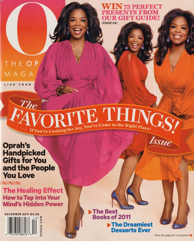 Oprah Magazine COVER